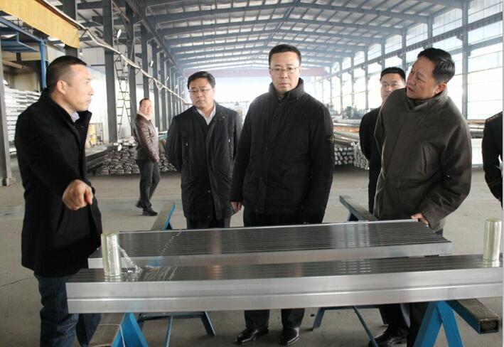 韩福春到我区企业检查安全生产工作